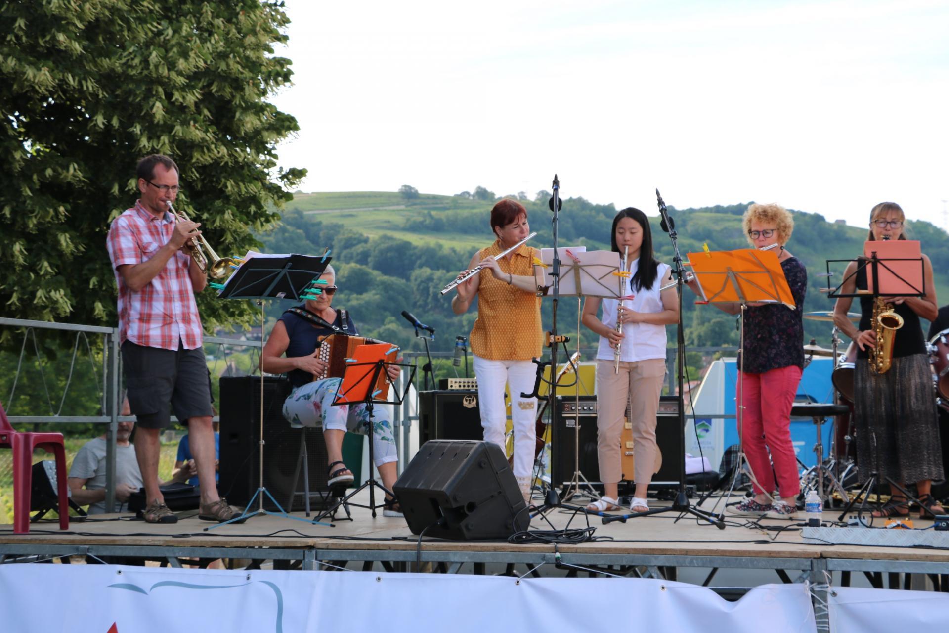 AMC Ensemble Musical à la Fête de la Musique